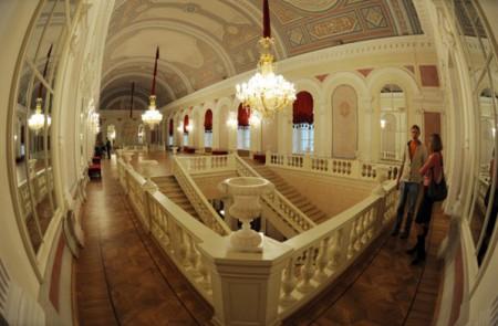 Государственный Большой Академический театр после реконструкции..