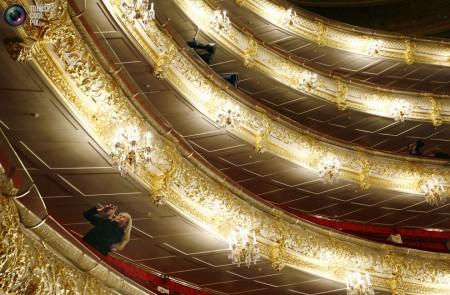 Балконы театра