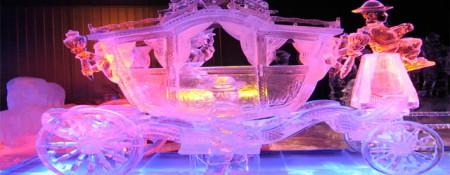 фигуры изо льда