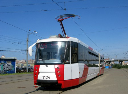 Трамваи и троллейбусы Питера.