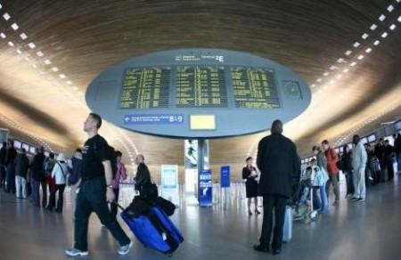 Аэропорт Парижа.