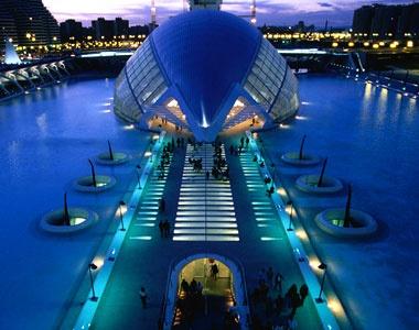 Потрясающий город науки и искусств.