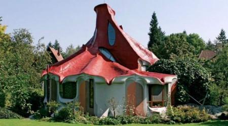 Странные крыши домов Мира.