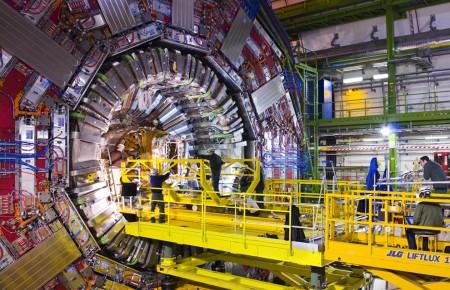 Большой адронный коллайдер.